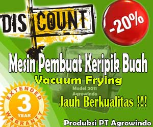 mesin vacuum frying di malang